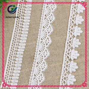 Wholesale Decorative Lace 100% Polyester New Fancy Lace Trim pictures & photos