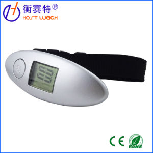 High Precision 50kg/10g Promotional Plastic Digital Luggage Scale pictures & photos