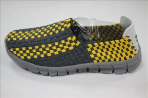 New Arriving Men′s Casual Woven Shoes