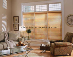 China Wooden Ready Made Blinds Sgd W 565 Ladder Tapes Tilter Cord Control