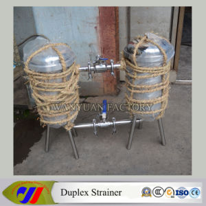 3t/H Sanitary Duplex Filter/Sanitary Duplex Filter pictures & photos