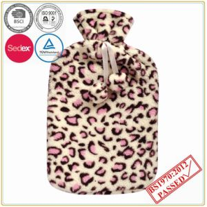 BS Quality Hot Water Bottle with Coral Fleece Cover pictures & photos