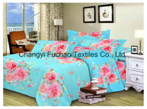 China Suppliers Queen Size Poly or Cotton Material Bedding Set pictures & photos