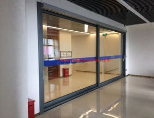Home High Quality Aluminium Glass Sliding Door with Security Screen Door