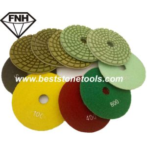 Dry Polishing Pad for Grinding Concrete of Diamond Tools