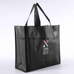 Laminated Tote Non Woven Shopping Bag with Customizd Size (YYNWB065)