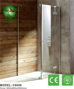 Aluminum Frame Glass Made in China Sliding Shower Enclosure