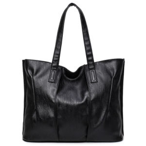 Women Handbags Simple Faux Leather Shoulder Vintage Bag