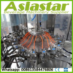 Automatic Pulp Juice Liquid Filling Machine Hot Drinks Production Line pictures & photos