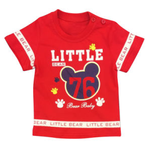 Fashion Kids Clothes, Popular Boy T-Shirt with Printed
