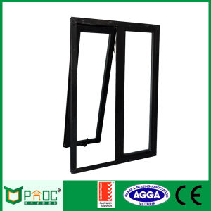 Australian Standard Aluminium/Aluminium Awning Window with Tempered Glass (PNOC0012THW) pictures & photos