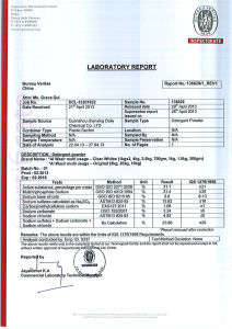 High Foam Formula Washing Powder (Inspection Certificate Avaliable) pictures & photos