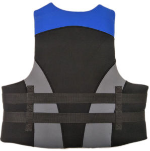 Neoprene Life Jacket with Polyester (HX-V0013) pictures & photos