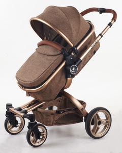 2017 New Design European Baby Stroller with Aluminum Frame