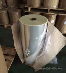 BOPP Transparent Film for Printing, Laminating, Bag Making pictures & photos
