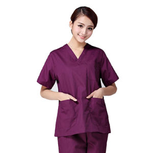 Guangzhou Factory Medical Dress Cotton Doctor Uniform pictures & photos