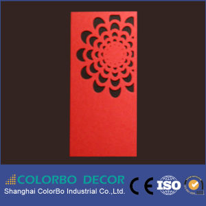Building Material Carved Polyester Fiber Acoustic Panels pictures & photos