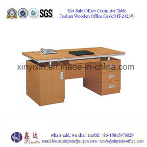 China Wooden Furniture Melamine Staff Office Desk (MT-2424#) pictures & photos