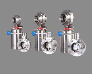 SMS Stainless Steel Butterfly Valve (IFEC-DF002) pictures & photos
