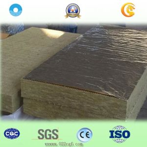 Thernal Insulation Rock Wool Board with Aluminum Foil