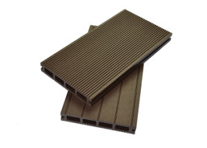 Europe Standard Outdoor WPC Flooring / Plastic Decking Boards pictures & photos