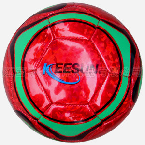 Machine Stitched with 32panels Laser PVC Soccer Ball (SM5153) pictures & photos