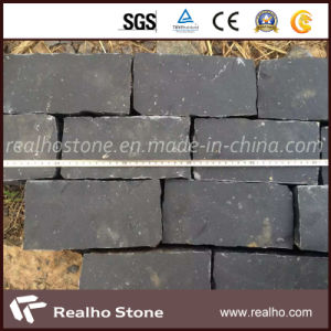 Natual Black Basalt Cobblestone for Sidewalk Paving Stones