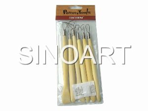 Wooden Sculptural Tool Set (SFT063)