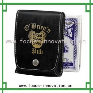 Leather Card Holder (F2332)