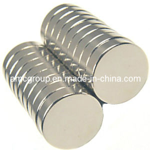 Nm-77 Eco-Friendly Materials NdFeB Magnet Disc From China Amc pictures & photos