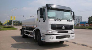 Hot Sale Water Tanker Truck of Sinotruk 8t pictures & photos