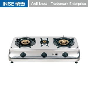 Super Flame Gas Stove Stainless Steel