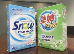 Paper Box Washing Detergent Powder Professional Manufacturer and Exporter