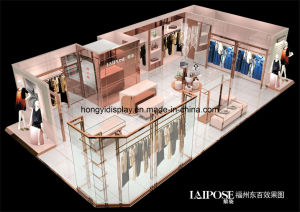 Fashion Women Clothes Shop Design, Display Fixture pictures & photos