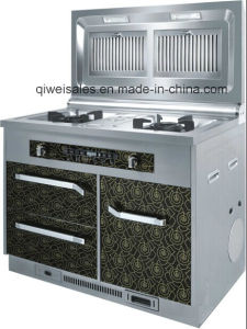 Integrated Cooker with Double Gas Stove (SX-F1)