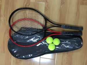 Cheapest 2PCS Tennis Racket Combo