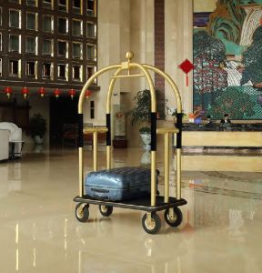 New Design Stainless Steel Luggage Cart (DF78) pictures & photos