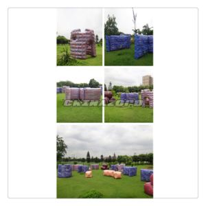 Popular Colorful Inflatable Paintball Bunker for Sale