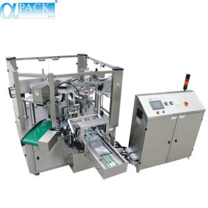Rotary Filling and Sealing Packing Machine for Pre-Made Pouches (AP-8BTIII) pictures & photos