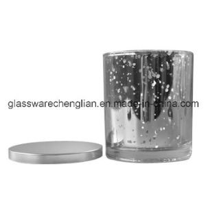 Silver Glass Candle Holders, Good Quality (ZT-056) pictures & photos