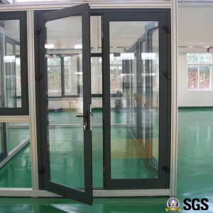 Good Quality Thermal Break Aluminum Casement Door, Aluminium Door, Door K06012