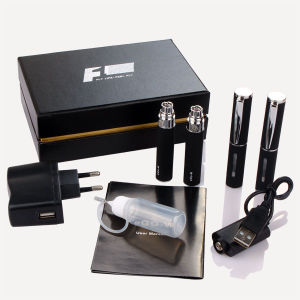 2013 EGO-W F1 Electronic Cigarette 650mAh Battery 2.0ml Atomizer Double Kit Gift Box Packing Huge Vapor