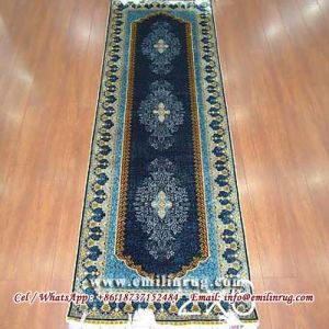 Handmade Silk Persian Rug Runners Long