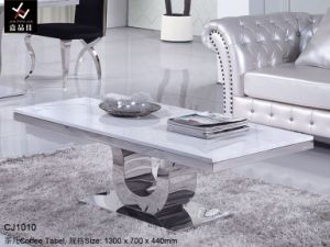 Luxury Stainless Steel Coffee Table