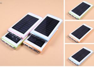 in Stock Solar Power Bank with 3 USB Ports