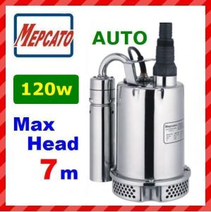 Stainless Steel Self-Priming Centrifugal Submersible Pumps