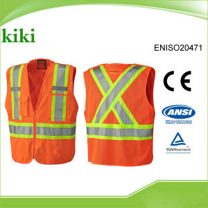 Hot Selling ANSI Good Quality Industrial Break-Away Safety Vest