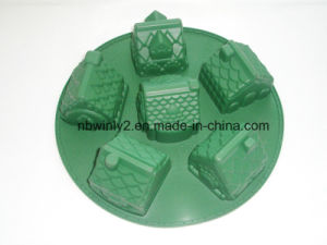 100% Silicone Cake Mould for Christmas pictures & photos