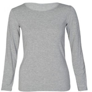 Cotton Women′s Long Sleeve T Shirt pictures & photos