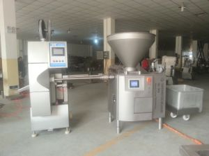 Full Automatic Vacuum Quantitive Industrial Sausage Stuffer pictures & photos